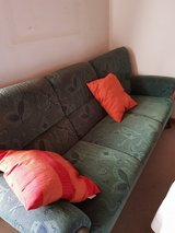 Couch and 2 Armchairs with Foot-stool in Ramstein, Germany