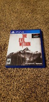 The Evil Within (PS4) in Fort Polk, Louisiana
