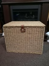 large foldable seagrass trunk chest in Lakenheath, UK