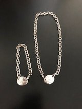 Sterling Silver Necklace and Bracelet in Bolingbrook, Illinois