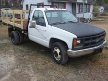 1989 Chevy 3500 flatbed dually work truck in Camp Lejeune, North Carolina