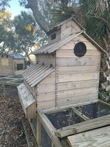 custom made chicken coop in Beaufort, South Carolina