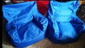 Blue / Extra Large Bean Bag Chair Set in Fort Campbell, Kentucky
