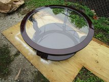 Round Coffee Table With Glass Top in Westmont, Illinois
