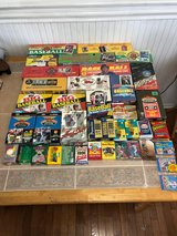 Sports Cards Factory Sealed sets, Wax boxes, Ind packs, 1987 Topps,1988 Fleer,1989 UD... in Richmond, Virginia