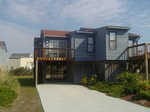 NO ADDED FEES-Walk 2 Beach,N. Topsail Beach,ALL the extras=$595.00 wk. NO ADDED FEES!=WOW!!(by o... in Camp Lejeune, North Carolina