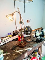 vintage steampunk lamp in Cherry Point, North Carolina