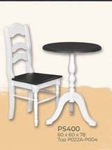 United Furniture - Coffee or Tea for Two including table - two chairs - delivery in all colors in Ramstein, Germany