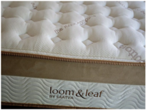 Loom & Leaf Luxury Relaxed Firm Queen Mattress by Saatva - Retail $1499 in Naperville, Illinois