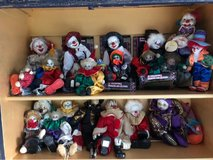 Clown collection in Moody AFB, Georgia
