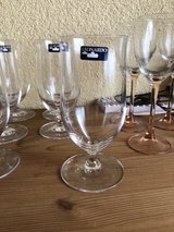 6 Leonardo Beer glasses in Ramstein, Germany