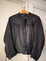 vintage Willie g Harley Davidson leather jacket in 29 Palms, California