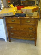 antique oak dresser in Cherry Point, North Carolina