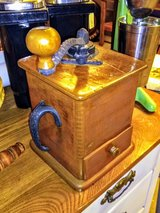 1880's antique coffee Mill excellent condition in Cherry Point, North Carolina
