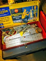 vintage Erector Set in Cherry Point, North Carolina