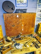 antique brake parts cabinet with key in Cherry Point, North Carolina