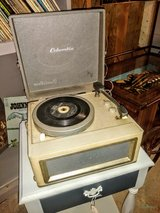 vintage Columbia record player works perfectly in Cherry Point, North Carolina