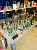 antique bottles in Cherry Point, North Carolina