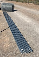 180' of 4' chain link fencing with 180' of toprails in Alamogordo, New Mexico