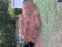 Pinestraw for sale $3.20 medium needle. Big fresh clean bales in Warner Robins, Georgia