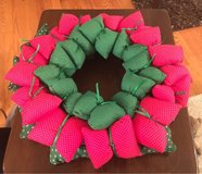 Cloth Wreath in Naperville, Illinois