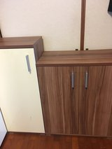 4 cabinets good condition, bought in Germany in Okinawa, Japan