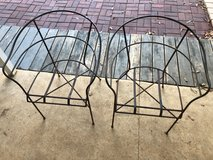 Two steel deck chair frames - vintage in Warner Robins, Georgia