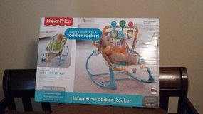 New Fisher-Price Infant-to-Toddler Rocker, Jungle Fun in Moody AFB, Georgia