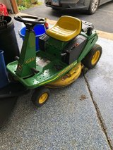 John deere riding mower and attachments in Naperville, Illinois