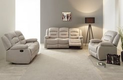 United Furniture - Chamant - Sofa-Loveseat-Chair - price includes delivery -also Dark Grey in Ramstein, Germany