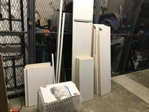 Entire Closet Works System Easy Installation Over 20 Shelves Plus 4 Hanging Rods And 2 Baskets in Oswego, Illinois