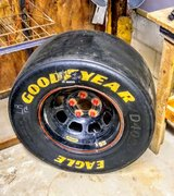 #55 Nascar wheel in Camp Lejeune, North Carolina