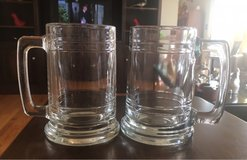 2 Glass Mugs in Joliet, Illinois