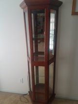 6ft glass shelf Curio cabinet in Camp Lejeune, North Carolina