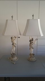 1950's Mid Century Collection by Francaise Baroque Lamps in Yucca Valley, California