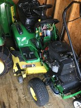 2 complete John Deere LX277 tractors 1 runs and in good condition,other needs starter dealer sol... in Naperville, Illinois