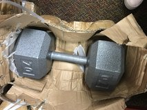 70 Pound Dumbbells (Have 8) in Plainfield, Illinois