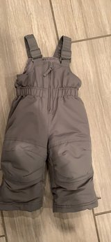 12 month snow pants almost new! in Oswego, Illinois