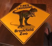 T-Rex Sign in Chicago, Illinois