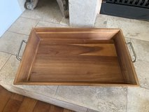 Threshold Solid Hardwood serving tray in Okinawa, Japan