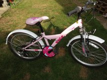 KINX girls bike, in Lakenheath, UK