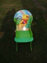 Winnie the pooh wooden rocking chair in Lakenheath, UK
