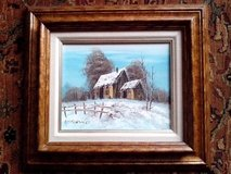 """Another Gorgeous Oil Painting on Pretty Wood Frame, Sise is 17"""" by 15"""" in Orland Park, Illinois"""