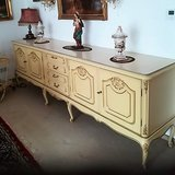 White Chippendale Sideboard 250 cm wide in Ramstein, Germany