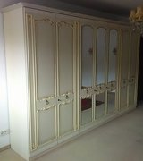 White Chippendale Schrank or Closet in Ramstein, Germany