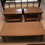 Coffee table & two matching end tables in Warner Robins, Georgia