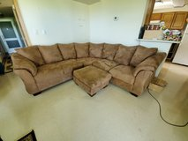 Brown Sectional Couch in Okinawa, Japan