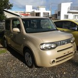 Nissan Cube in Okinawa, Japan