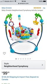Baby exersaucer/ baby mobile for floor or crib in Okinawa, Japan