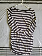 Striped maternity long sleeve in Okinawa, Japan